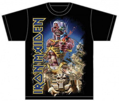 Iron Maiden T Shirt Somewhere back in time