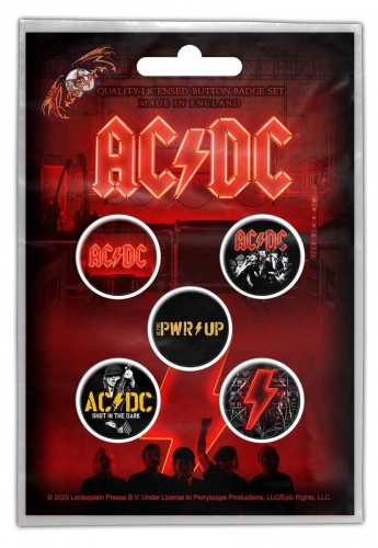 AC/DC PWR UP Button Pack