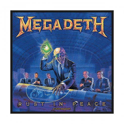 Megadeth Rust In Peace Patch