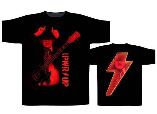 AC/DC T Shirt PWR UP Angus