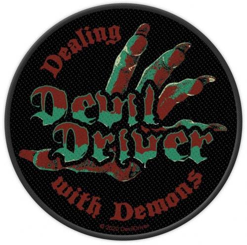 Devil Driver Dealing With Demons Aufnäher Patch