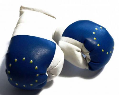 Mini Boxhandschuhe - Europa