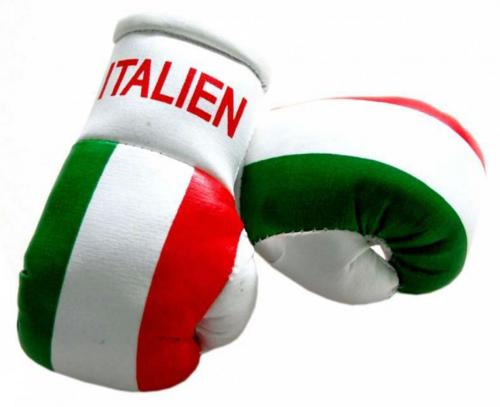 Mini Boxhandschuhe - Italien