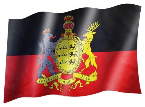 Fahne Königreich Württemberg | 294