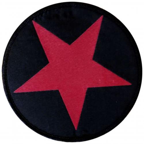 Roter Stern Aufnäher