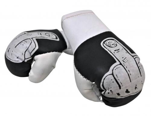 Mini Boxhandschuhe - Stinkefinger