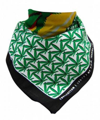 Trendy Cannabis Biker Bandana