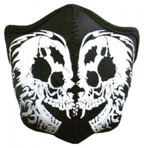 Biker Maske Tribal Skull