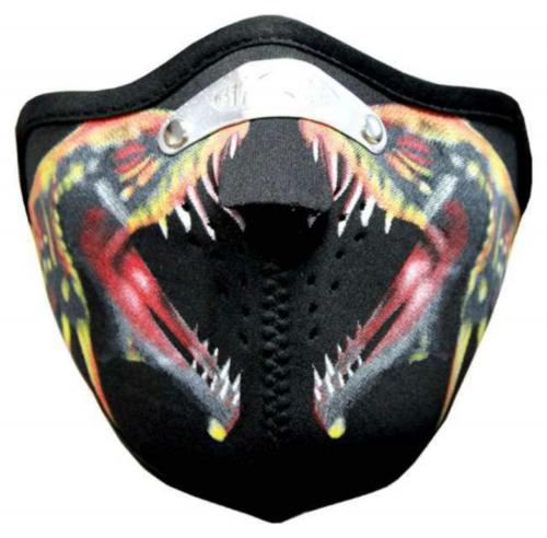 Biker Maske Deadly Snakes