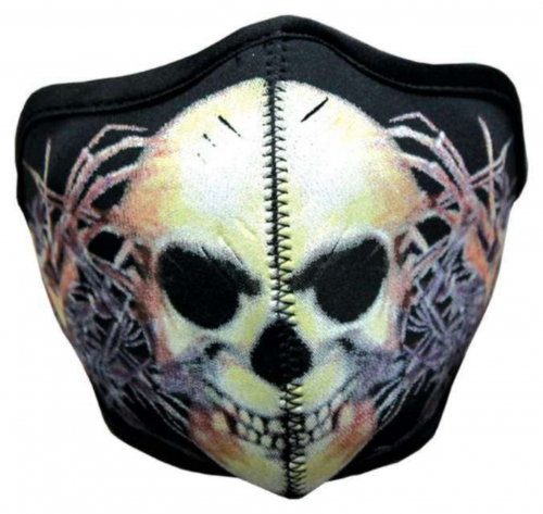 Biker Maske Skull