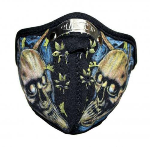 Biker Maske Death Skulls