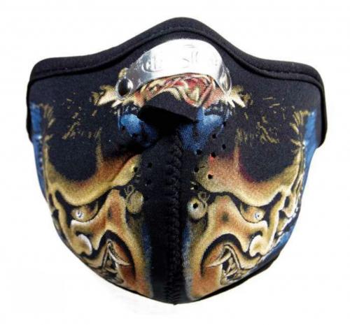Biker Maske Devil Rider