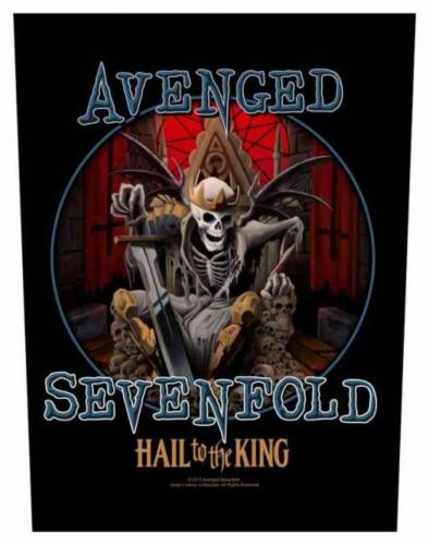 Avenged Sevenfold Hail To The King Rückenaufnäher
