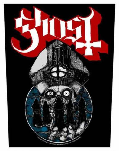 Ghost Papa Warriors Rückenaufnäher