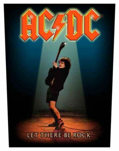 ACDC Let There Be Rock Rückenaufnäher