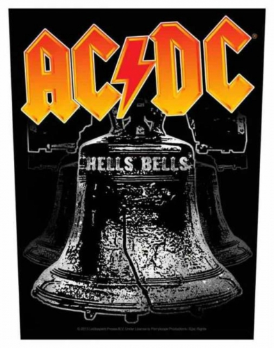 ACDC Hells Bells Rückenaufnäher