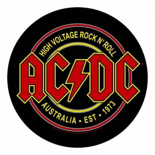 AC/DC High Voltage Rock N Roll Rückenaufnäher