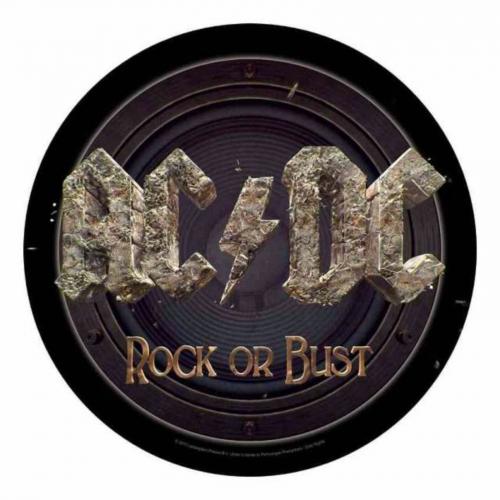 AC/DC Rock or Bust Rückenaufnäher