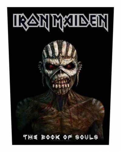 Iron Maiden The Book of Souls Rückenaufnäher