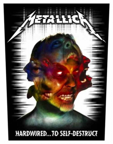 Metallica Hardwired To Self Destruct Rückenaufnäher