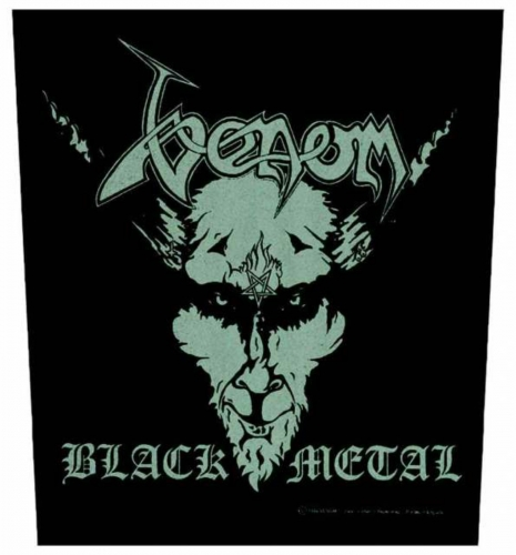 Venom Black Metal Rückenaufnäher