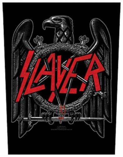 Slayer Black Eagle Rückenaufnäher