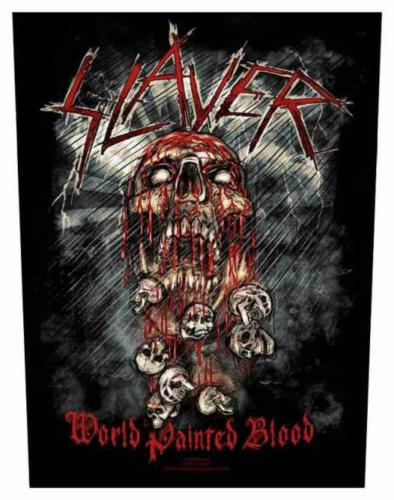 Slayer World Painted Blood Rückenaufnäher