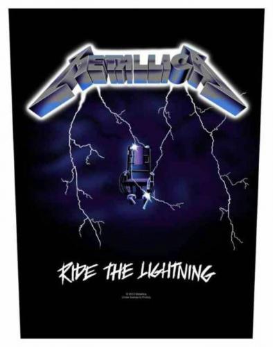 Metallica Ride The Lightning Rückenaufnäher