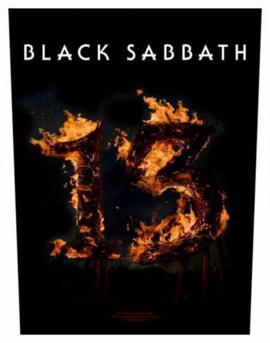 Black Sabbath 13 Rückenaufnäher