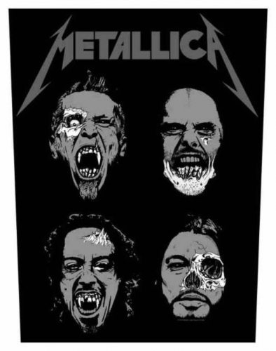 Metallica Undead Rückenaufnäher