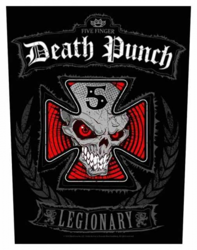 Five Finger Death Punch Legionary Rückenaufnäher