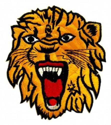 Aufnäher Löwe