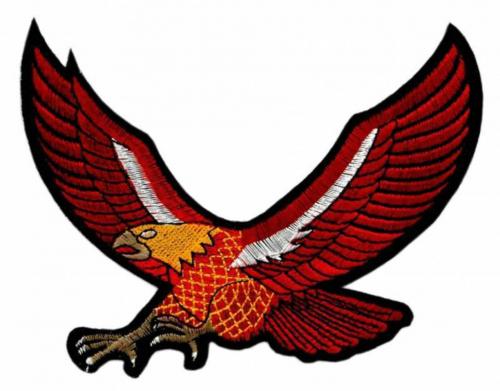 Aufnäher Roter Adler   C031