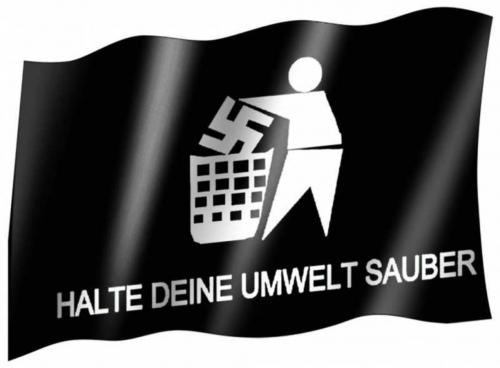 Fahne Anti Nazi
