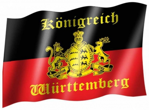 Fahne Königreich Wuerttemberg
