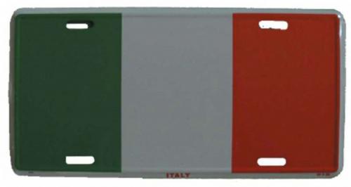 Blechschild Italien - 30cm x 15cm