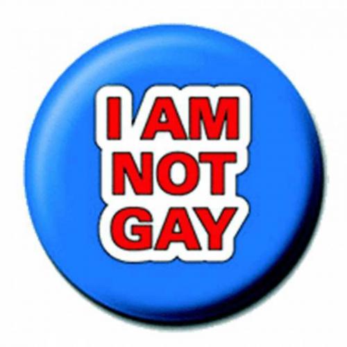 Ansteckbutton Not Gay   4488