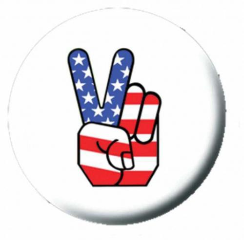 Ansteckbutton Amarican Peace   4491