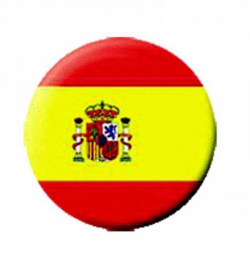 Ansteckbutton Spanien   4614