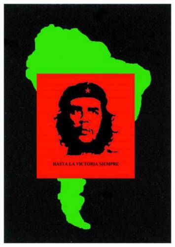Posterfahne Che Guevara   016