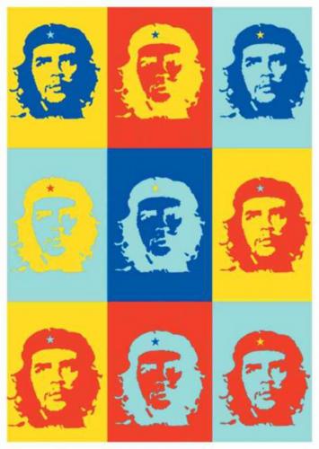 Posterfahne Che Guevara | 114