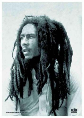 Posterfahne Bob Marley | 027