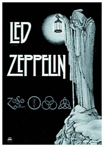 Posterfahne Led Zeppelin | 028
