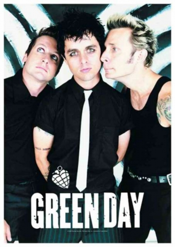 Posterfahne Green Day | 763