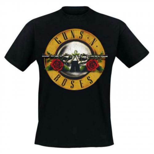 Guns'n'Roses - Distressed Bullet - T-Shirt