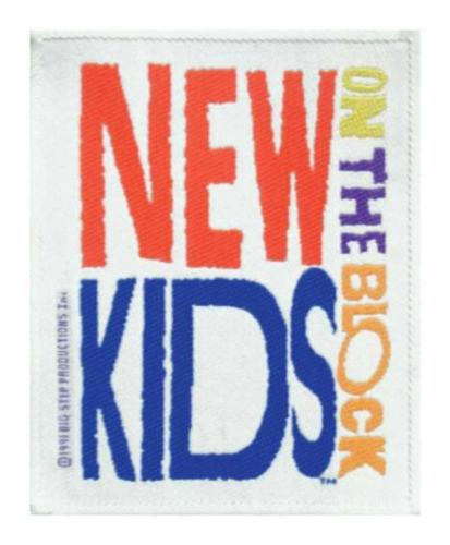 New Kids On The Bl Aufnäher   R085