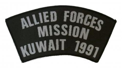 Allied Forces Miss Aufnäher | R285