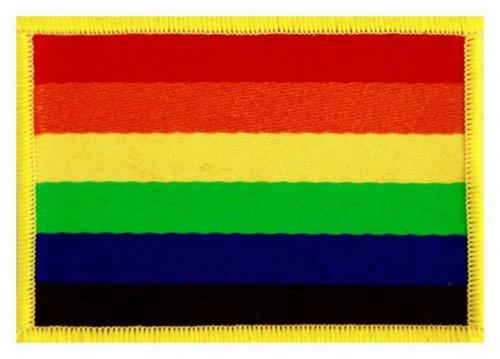 Rainbow Aufnäher | R380