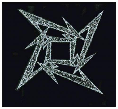 Metallica Star Aufnäher | 1296