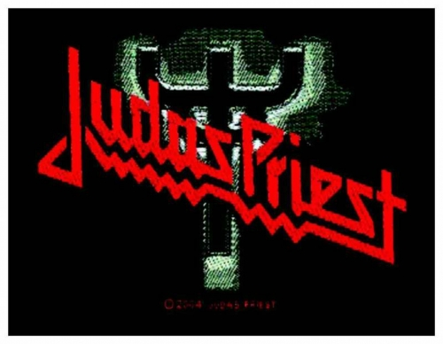 Judas Priest Logo Fork Patch   1855